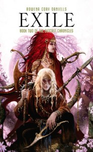 "More sexy cover art from Daniells' amazing fantasy series ""The Outcast Chronicles""."
