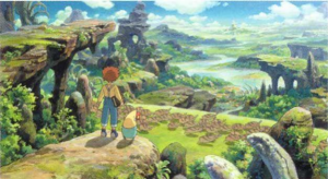 The glorious world of Ni No Kuni